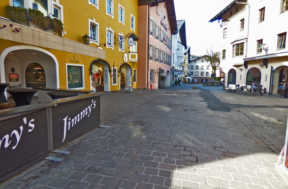 Shopping in Kitzbühel – Hinterstadt