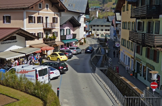 Shopping in Kitzbühel – Gänsbachgasse